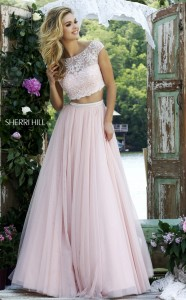 Sherri Hill 50038 Blush