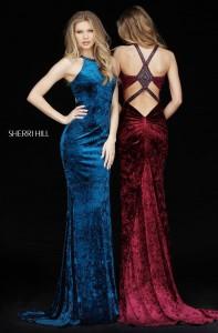 Sherri Hill 51424 Velvet