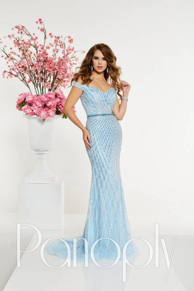 Panoply 14903 is available in Navy, Sky Blue and in sizes 0-30.