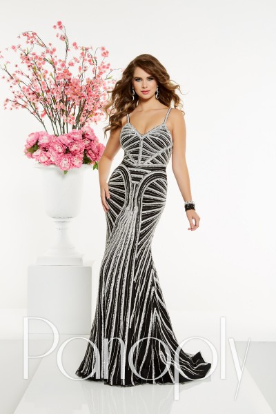 Panoply 14905 is available in Black Silver, Nude Silver and in sizes 0-30.