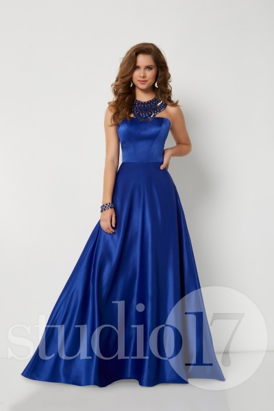 Studio 17 12693 is available in Red, Royal and in sizes 0-30.