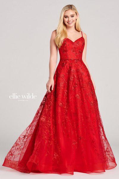 Ellie Wilde EW22015 Sleeveless Prom Dresses