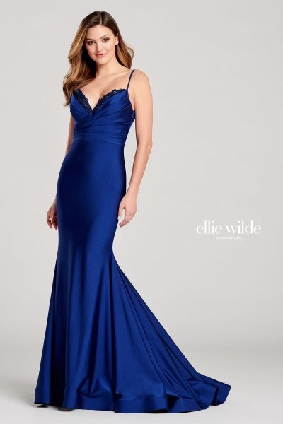 Ellie Wilde EW22051 Sleeveless Prom Dresses