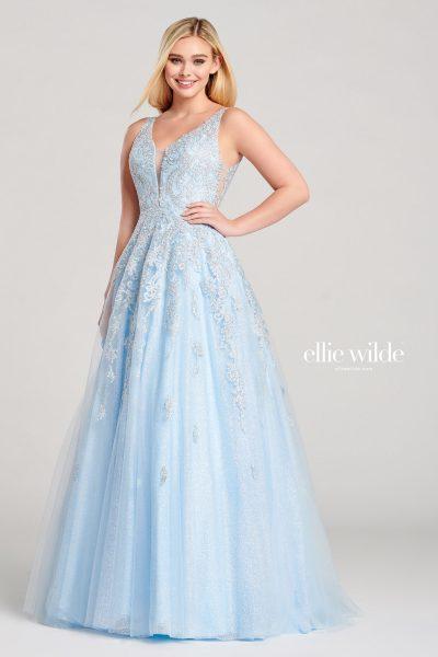 Ellie Wilde EW22045 Sleeveless Prom Dresses
