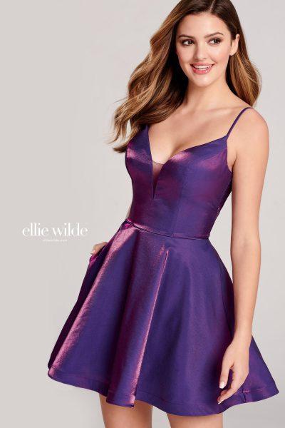 Ellie Wilde EW22023S Sleeveless Prom Dresses