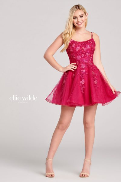 Ellie Wilde EW22022S Sleeveless Prom Dresses