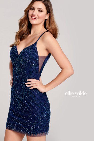 Ellie Wilde EW22016S Sleeveless Prom Dresses