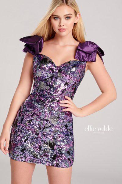 Ellie Wilde EW22026S Sleeveless Prom Dresses