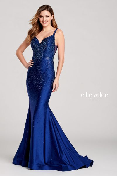 Ellie Wilde EW22019 Sleeveless Prom Dresses
