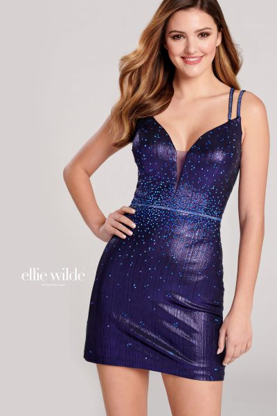 Ellie Wilde EW22021S Sleeveless Prom Dresses