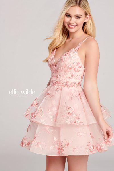 Ellie Wilde EW22039S Sleeveless Prom Dresses