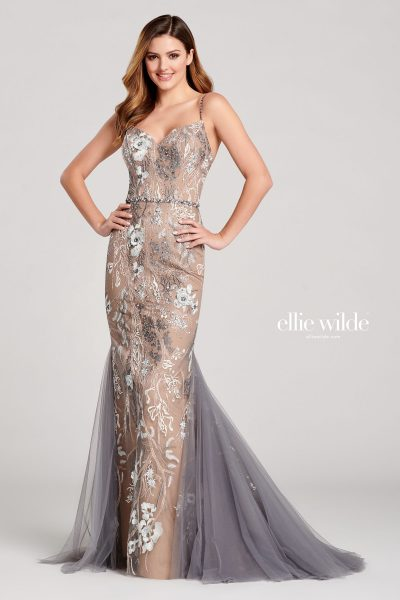 Ellie Wilde EW22030 Sleeveless Prom Dresses