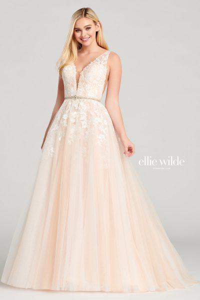 Ellie Wilde EW22040 Sleeveless Prom Dresses