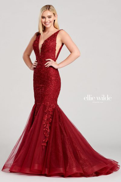 Ellie Wilde EW22047 Sleeveless Prom Dresses