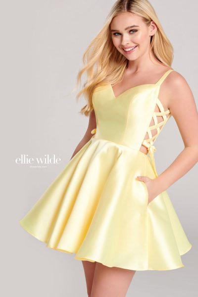 Ellie Wilde EW22058S Sleeveless Prom Dresses