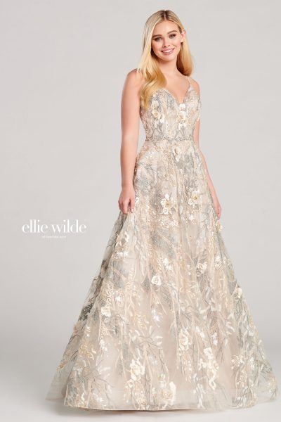 Ellie Wilde EW22031 Sleeveless Prom Dresses