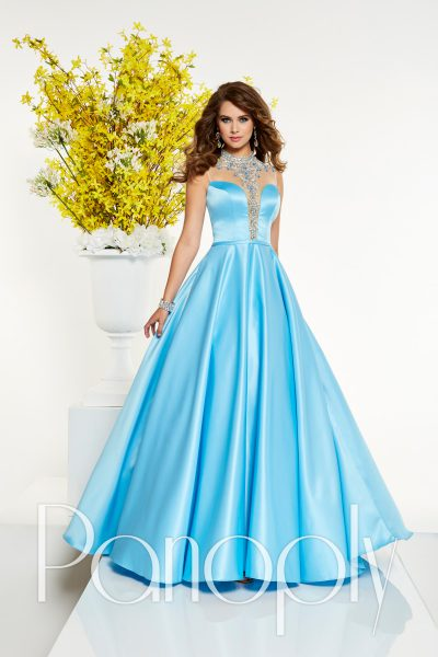 Panoply 14870 is available in Lemon, Sky Blue and in sizes 0-30.