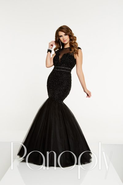 Panoply 14902 is available in Black, Red and in sizes 0-30.