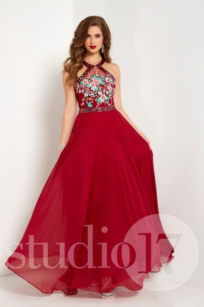 Studio 17 12675 is available in Black Multi, Wine Multi and in sizes 0-30.
