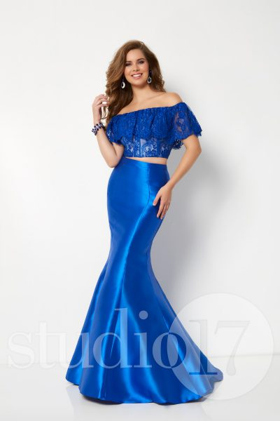 Studio 17 12690 is available in Black, Royal and in sizes 0-30.